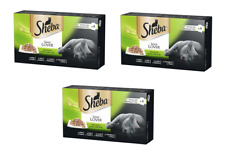 Sheba Cat Food Sauce Lover Selection Trays 3x 4 Packs = 12x 85g! *IMPORT*