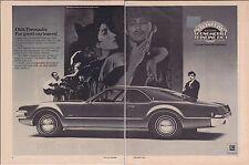 1969 OLDSMOBILE TORONADO  ~  CLASSIC ORIGINAL 2-PAGE PRINT AD