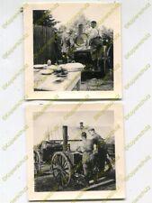 2x Foto, Wehrmacht, Erinnerung an die Einquartierung in Błonie, Polen, d 19735