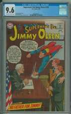 SUPERMAN'S PAL JIMMY OLSEN #128 CGC 9.6 OW/WH PAGES