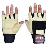 ARD Weight Lifting Gloves Strengthen Training Fitness Gym Exercise Workout