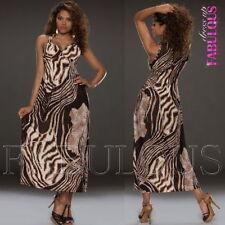 Unbranded Animal Print Summer Dresses for Women