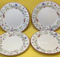 "SET of 4 Johnson Brothers  ""SUMMER CHINTZ"" Salad Plates, 7 3/4"""