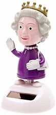 NEW Solar Powered Dancing HRH The Queen, novelty toy stocking filler 57/9746