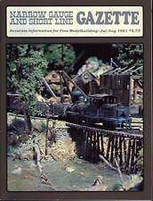 Narrow Gauge and Short Line Gazette : July August 1981 : Volume 7 Number 3