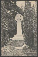 Postcard Eversley near Fleet Hampshire the Tomb of Charles Kingsley memorial