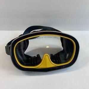 U.S. Divers Co Full Thermal Temper Glass Aqua-Naut Dive Mask Scuba Snorkel USA
