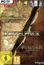 Port Royale 3 Gold + Patrizier 4 Gold Deutsch Top Zustand