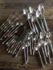 Vuillermet FRANCE 32 PIECES Silverplated FLATWARE DINNER SET 8 PLACE SETTINGS