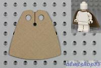 LEGO - Minifigure Cloth Cape Dark Tan - Custom Fabric Robe Cloak Jedi Star Wars