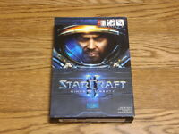 StarCraft 2 Wings of Liberty Blizzard Korean Version PC Windows Game DVD Rare
