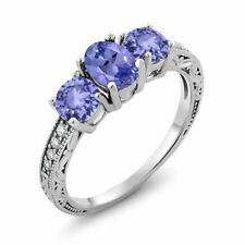 Tanzanite White Gold 14k Engagement Rings