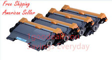 4PK Compatible Brother TN450 High Yield Toner Cartridge for MFC-7460N HL-2280DW
