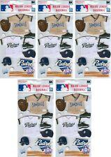 San Diego Padres Uniform Stickers MLB Scrapbook licensed WHOLESALE LOT of 5