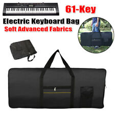 Lighweight 61-Key Electric Keyboard Piano Gig Bag Padded Protect Soft Carry Case