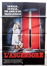 manifesto movie poster 2F L'ASCENSORE DE LIFT HUUB STAPEL DICK MAAS HORROR FILM