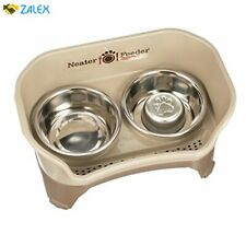 New ListingNeater Feeder Express Elevated Dog and Cat Bowls - Raised Pet Dish - Stainless S