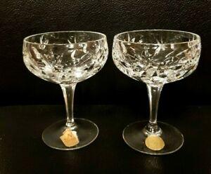 6 Sektschalen Nachtmann Bamberg Bleikristall Champagne Gläser Kristall Cocktail
