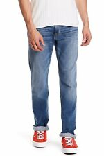 Hudson Jeans Men's Slim Straight Size 36x34 DARK BLUE W/FADE MSRP $198.00 NWT