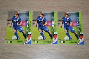 (3) 2008 Panini UEFA Euro Luka Modric Croatia #143