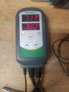 Inkbird ITC-308 Digital Temperature Controller 2-Stage Outlet Heating, Cooling