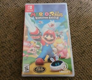 Mario + Rabbids Kingdom Battle (Nintendo Switch, 2017) SEALED