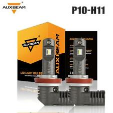 AUXBEAM H11 H8 H9 LED Headlight 60W 7600LM Kit Hi-Low Beam Fog Light Bulb Power