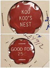 Koo Koo's Nest Plains PA good for 25c in trade token gft585