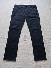 H&M Slim Fit Skinny Schwarz Jeans W34 L32