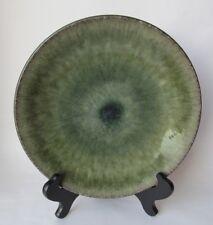 Jars France SAMOA VERT (GREEN) Dinner Plate Green & Black (4 Available)