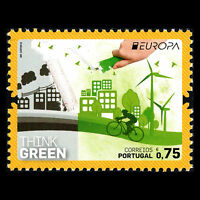 "Portugal 2016 - EUROPA Stamps ""Think Green"" - MNH"