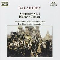 Balakirev: Symphony No. 1; Islamey; Tamara -  CD 7MVG The Fast Free Shipping