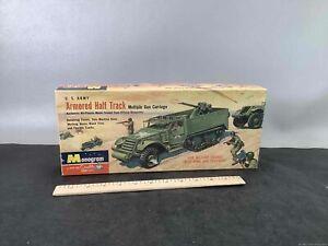 Vintage Monogram Armored Truck Model Kit Box