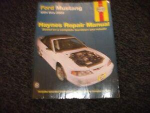 FORD MUSTANG HAYNES WORKSHOP MANUAL 1994-2003