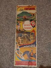 Spanish Circus, printed in Courtrai (Belgium) by the Ets Léon-Beyaert-Sioen,1950