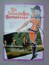Filmplakat : Die liebestollen Baronessen ( Andrea Rau )