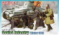 Soviet Infantry Winter 1941 1:35 Figure Plastic kit DRAGON MODELS