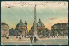 Roma Città Piazza del Popolo STRAPPO cartolina XB2340
