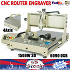 1500W 4Axis USB 6090 Engraving Drilling Milling Machine 3D Cutter VFD 1150*970MM