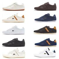 Lacoste Chaymon 119 5 CMA & BL 1 CMA Trainers in White, Blue Brown & Black
