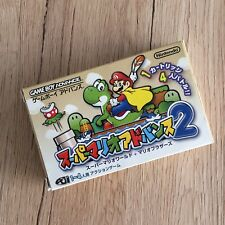 Super Mario Bros 2 -Super Mario World- Game Boy Advance GBA Jap Nintendo
