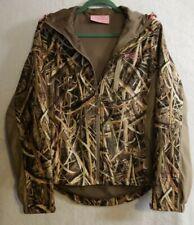 Rustic Ridge Small TPU Lamination Mossy Oak Scent Stop Hooded Hunting Jacket