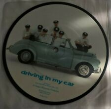 MADNESS, DRIVING IN MY CAR, 1982 STIFF LABEL PICTURE DISC, POP,PUNK,NEW WAVE, EX
