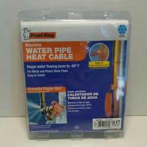 Feost King Electric Water Pipe Heat Cable 18ft