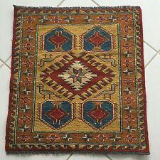 Kazak SUMAKH Kilim Tappeto fussmatte 58x54 Oriental Rug Carpet Alfombra carta da parati