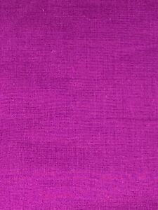 """Purple Solid Fabric Unbranded 100% Cotton Quilting Fabric Crafts 12 3/4"""""""