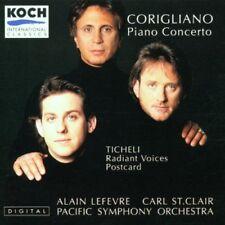 Corigliano Piano Concerto Ticheli Radiant Voices Postcard Pacific Sym Orch