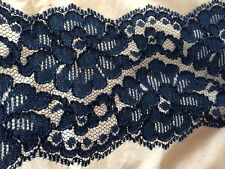 Lace trim  black  3 in. width 5 yards for  $2.50