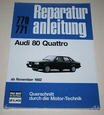 Reparaturanleitung Audi 80 Typ 85 Quattro, ab Bj. 1982