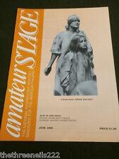 AMATEUR STAGE - FILLING THOSE EMPTY SEATS - JUNE 1990